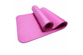 15MM Thick Yoga Mat Non-slip Exercise Fitness Gymnastic Mat Lose Weight Pad-Pink