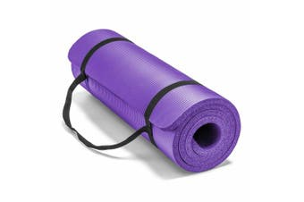 15MM Thick Yoga Mat Non-slip Exercise Fitness Gymnastic Mat Lose Weight Pad-Purple