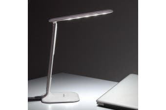 Simplecom EL808 Dimmable Touch Control Multifunction LED Desk Lamp 4W with Digital Clock
