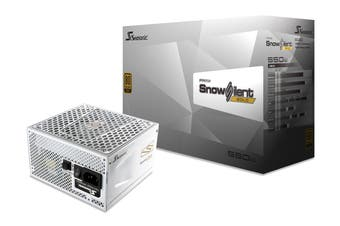 SeaSonic 550W PRIME Snow Silent PSU (SSR-550GD2-SNOWSILENT)