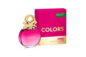 Benetton Colors de Benetton Pink 80ml EDT (L) SP