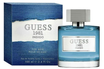 Guess Guess 1981 Indigo For Men 100ml EDT (M) SP