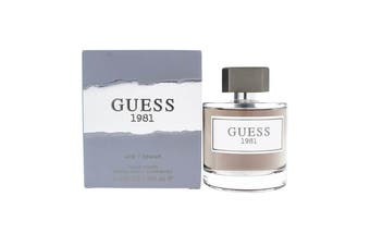 Guess Guess 1981 For Men 100ml EDT (M) SP