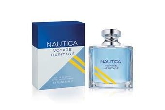 Nautica Voyage Heritage 50ml EDT (M) SP