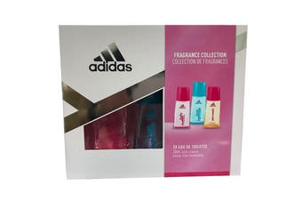 Adidas Fragrance Collection 3pc Set 30ml EDT (L)
