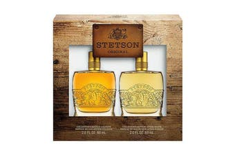 Coty Stetson Original Collector's Edition 2pc Set 60ml EDC (M)