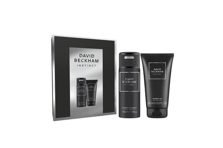 David Beckham Instinct 2pc Set 150ml DEO (M)