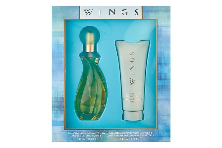 Giorgio Beverly Hills Wings 2pc Set 90ml EDT (L)