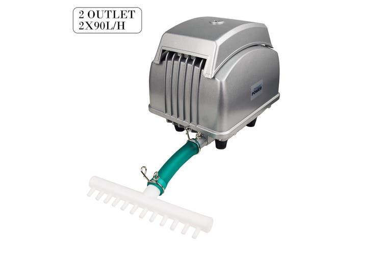 12 Outlet 4500L/H 65W Aquarium Air Pump