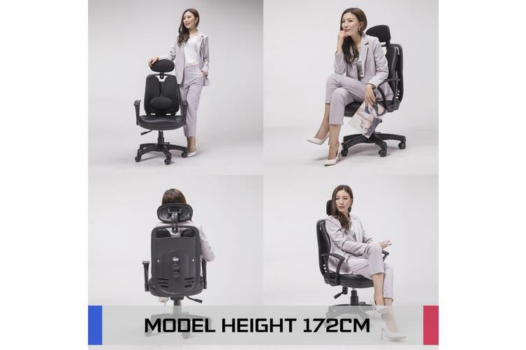 Korean Office Chair SUPERB - BLACK