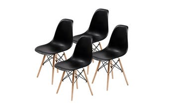 4X DSW Dining Chair - BLACK