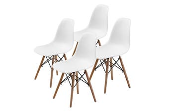 4X DSW Dining Chair - WHITE
