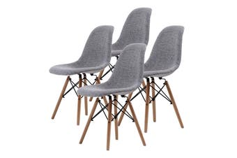 4X DSW Dining Chair Fabric - GREY