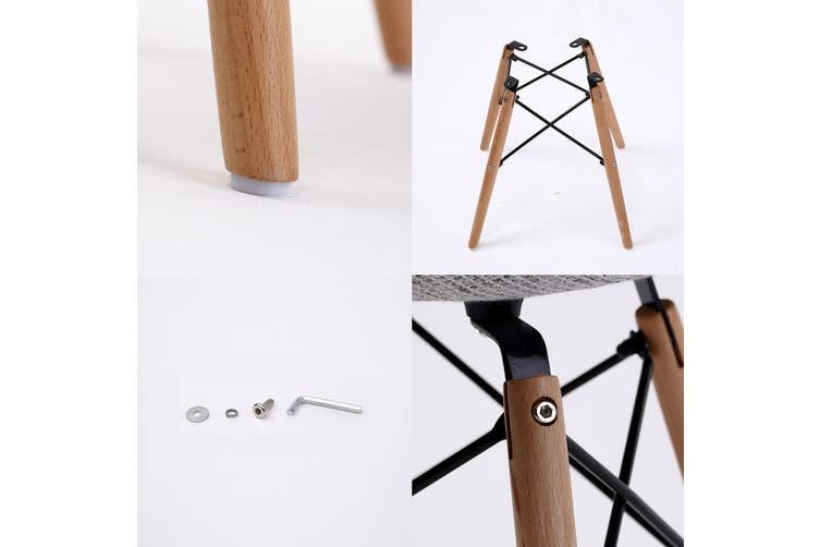 4X DSW Dining Chair Fabric - GREY