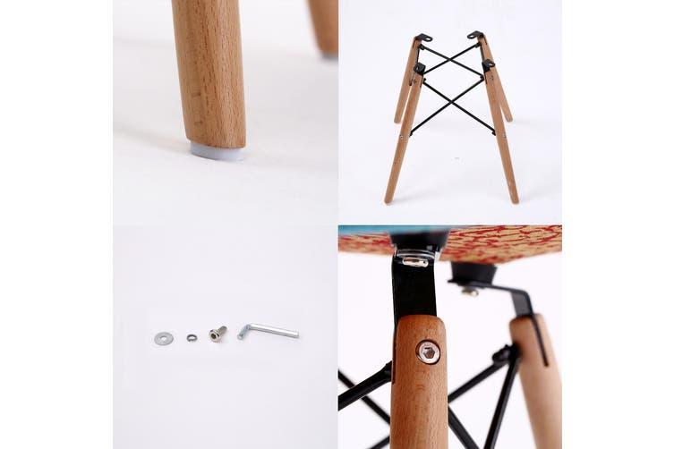 2X DSW Dining Chair Fabric - MULTI