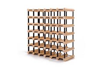 42 Bottle Timber Wine Rack