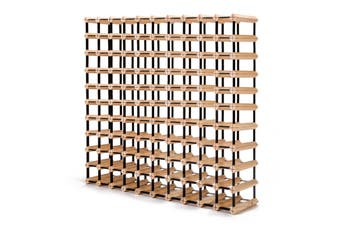 110 Bottle Timber Wine Rack