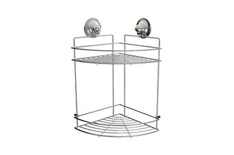 Double Corner Shelf Large - CHROME