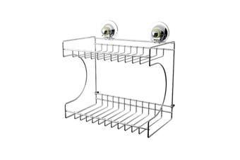 Double Rectangular Shelf - STAINLESS STEEL