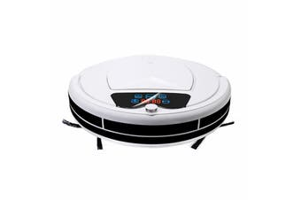 1200PA Vacuum Cleaner Robot - WHITE