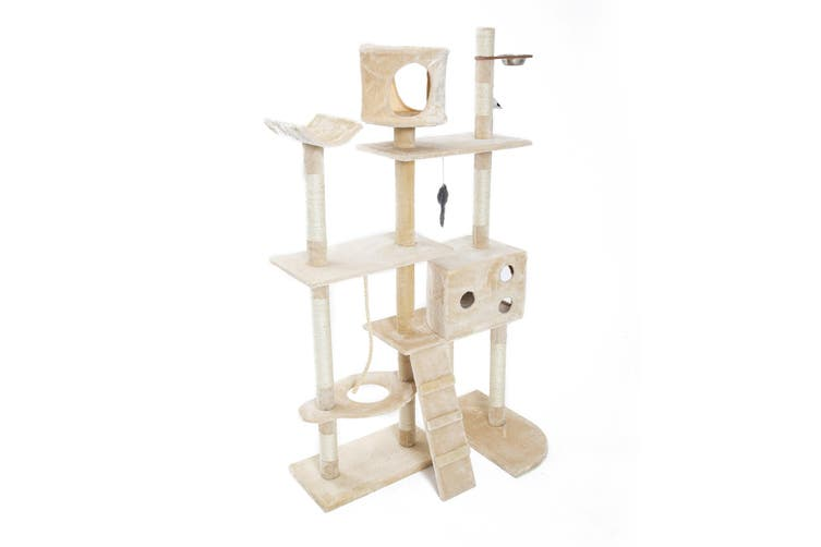 170cm Cat Tree Scratcher DANIE - BEIGE
