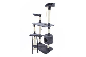 170cm Cat Tree Scratcher FUJI - GREY