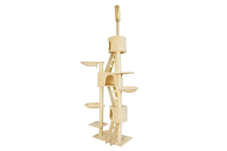 262cm Cat Tree Scratcher PARADISE - BEIGE