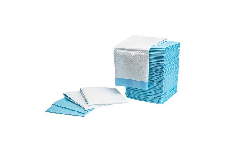 100PCS Pet Toilet Training Pads 7 Layered - BLUE