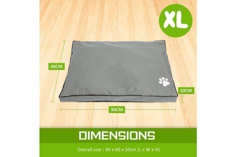 XL Pet Bed Mattress - LIGHT GREY