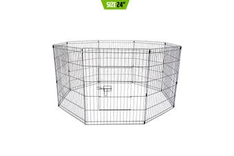 "24"" 8 Panel Foldable Pet Playpen"
