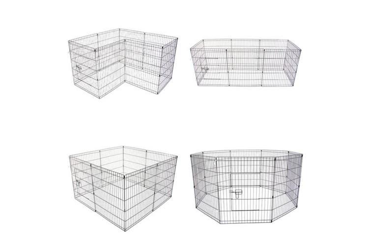 "24"" 8 Panel Foldable Pet Playpen"
