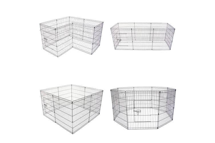 "30"" 8 Panel Foldable Pet Playpen"