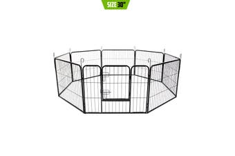 "31"" Heavy Duty 8 Panel Foldable Pet Playpen"