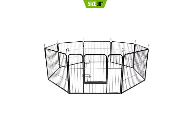 """31"""" Heavy Duty 8 Panel Foldable Pet Playpen"""