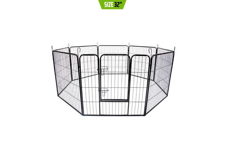 """32"""" Heavy Duty 8 Panel Foldable Pet Playpen"""