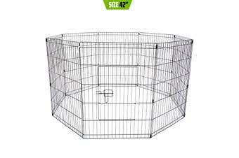 "42"" 8 Panel Foldable Pet Playpen"