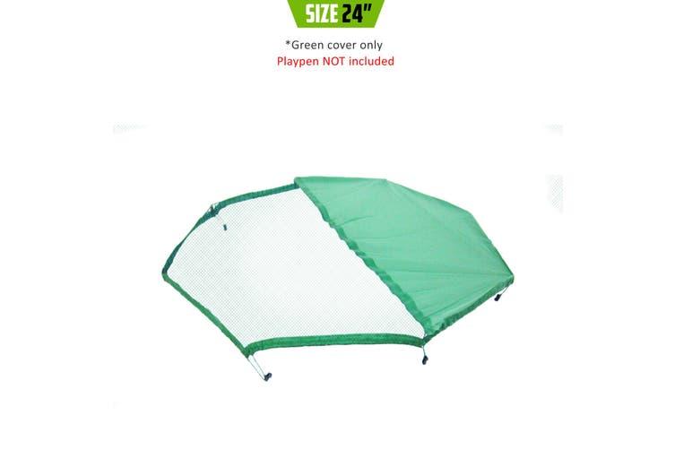 """24"""" Net Cover for Playpen - Green"""
