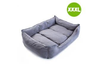 XXXL 120 x 100 x 25cm Pet Suede Sofa HUSK - GREY