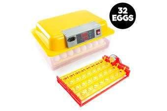 32 Eggs Digital Incubator With Tray