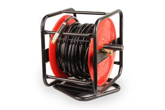 30m Hand Crank Air Hose Reel