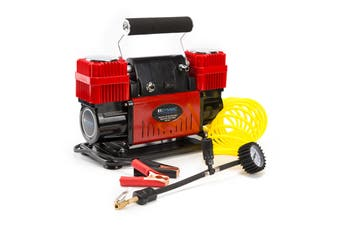 300L/MIN 12V Air Compressor - RED