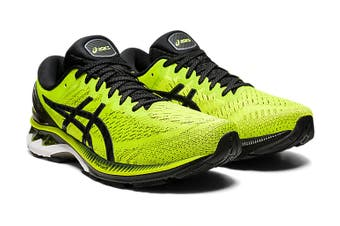 Asics Men's Gel-Kayano 27 Running Shoe (Lime Zest/Black, Size 10 US)