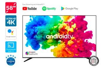 "Kogan 58"" XU9010 4K LED SmarterTV ( Android TV, Smart TV ) - Pre-owned"