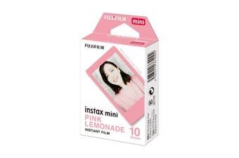 Fujifilm Instax Mini Film Pink Lemonade - 10 Pack