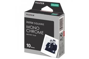 Fujifilm Instax Square Film Monochrome - 10 Sheets