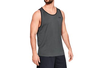 Under Armour Men's Tech 2.0 Tank (Pitch Gray/Black)