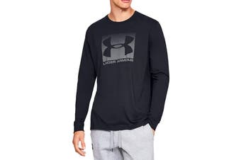 Under Armour Men's Boxed Sportstyle Long Sleeve Tee (Black/Graphite)