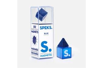 SPEKS Magnetic Balls   512 Miniature Construction Magnets   Blue