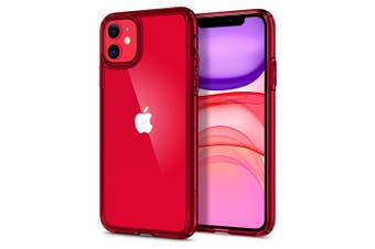 iPhone 11 Case, Genuine SPIGEN Ultra Hybrid Air Cushion Bumper Cover for Apple [Colour:Red]