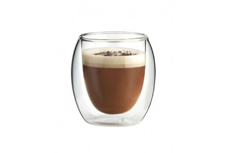 100Ml Dual Double Wall Espresso Cups - Set Of 6
